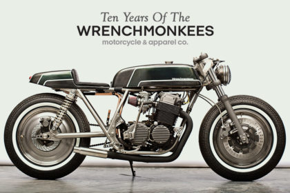 Tribute: Ten Years of The Wrenchmonkees, the iconic Danish custom motorcycle workshop