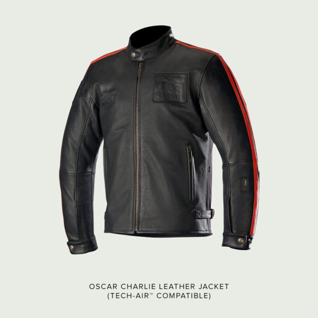 Alpinestars Oscar Charlie leather jacket Tech-Air review