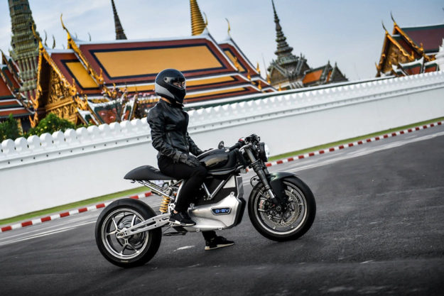 Project D-EV: an electric Ducati scrambler