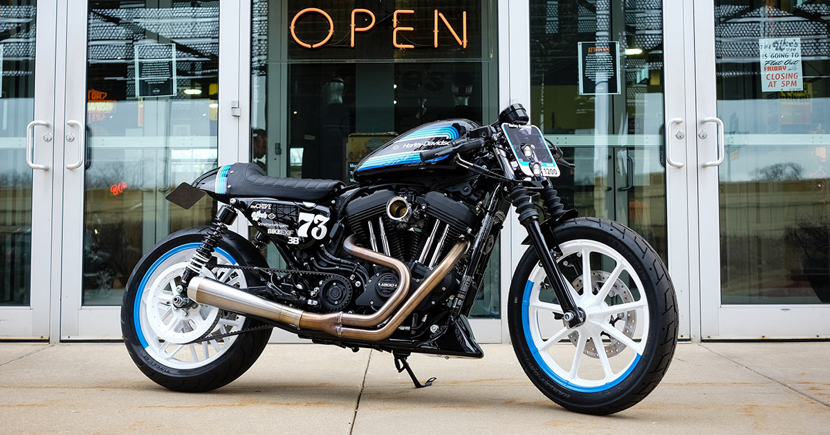 Building a Sportster Iron 1200 with five total strangers