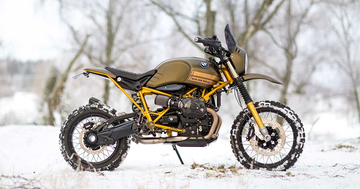 Ice cool: A go-anywhere BMW Urban G/S from Sweden