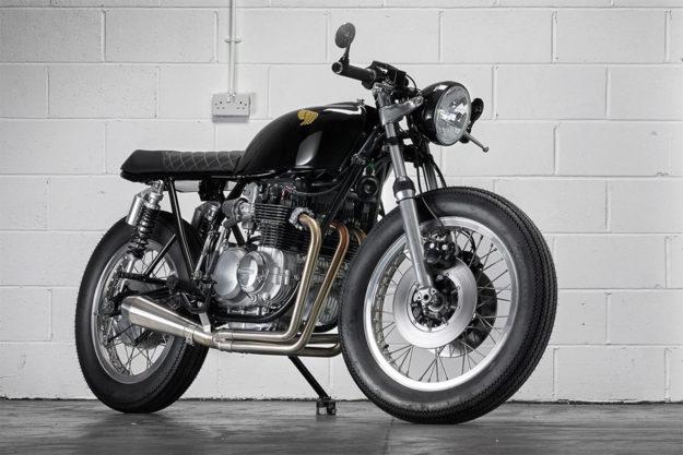 Honda CB550 by Sinroja Motorcycles
