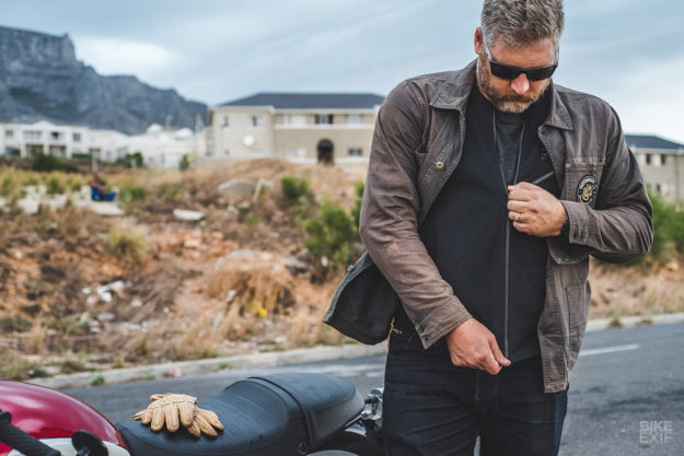 Tested: the Knox Urbane armor motorcycle shirt