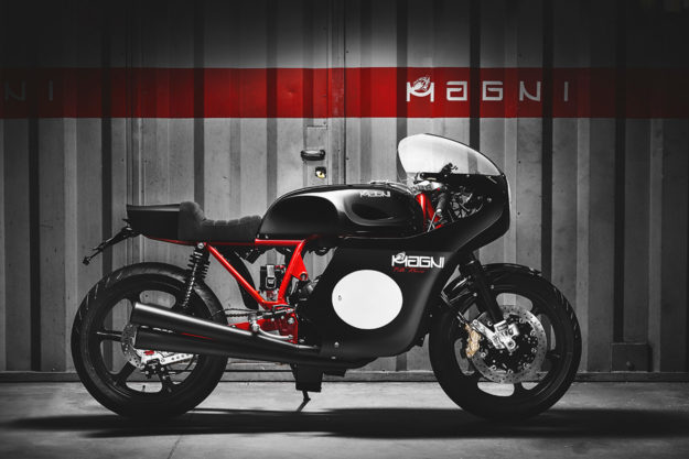The Magni Filo Rosso limited edition motorcycle