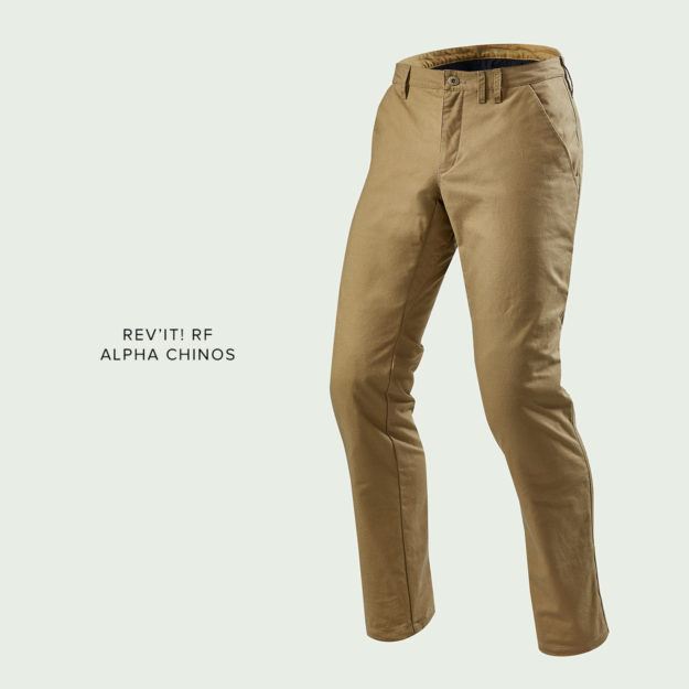 REV'IT! Alpha Chinos motorcycle pants review