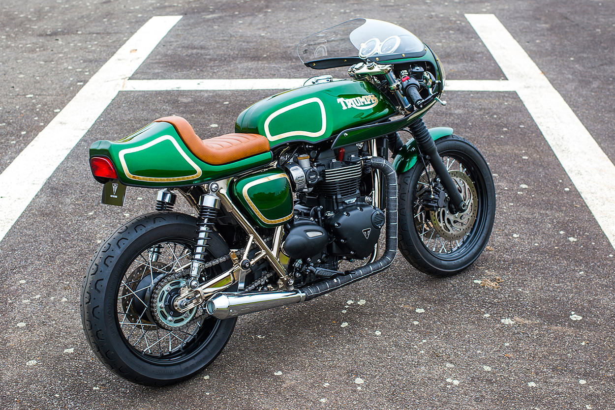A Triumph T120 Homage To Rickman By Return Of The Cafe Racers Full Size