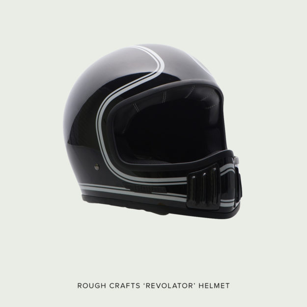 Tested: The new Rough Crafts Revolator motorcycle helmet