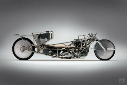 Triumph T200: Alp Sungurtekin's land speed record motorcycle