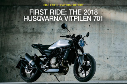 Review: The 2018 Husqvarna Vitpilen 701