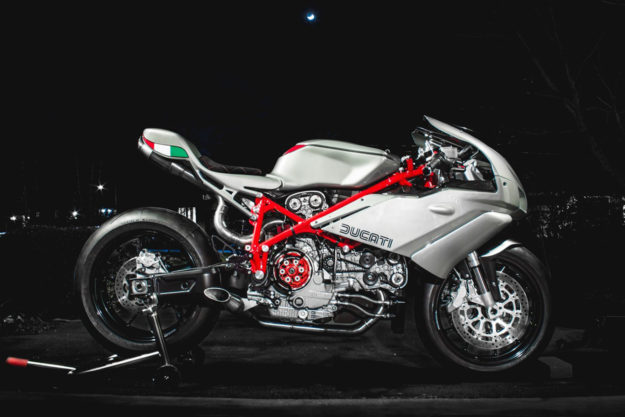 Custom Ducati 749 by Jett Design