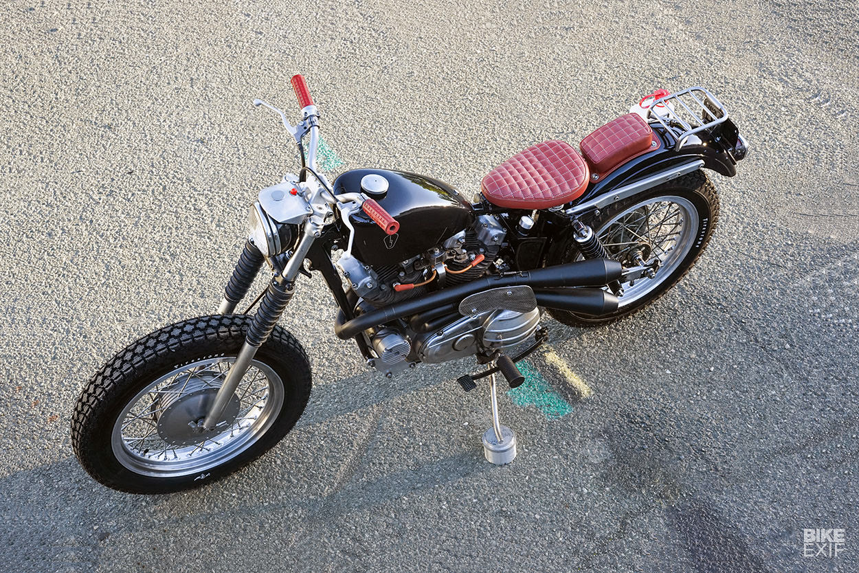 Heart Of Glass: Jared Smith's sweet 1966 XLCH Sportster | Bike EXIF