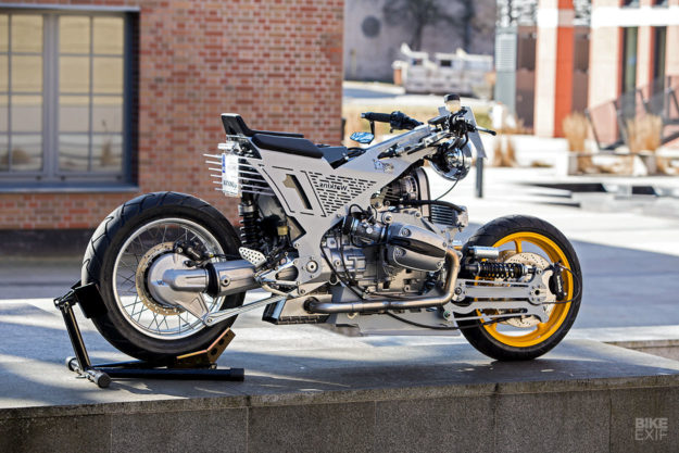 Extreme motorcycle engineering: The mindboggling Watkins M001
