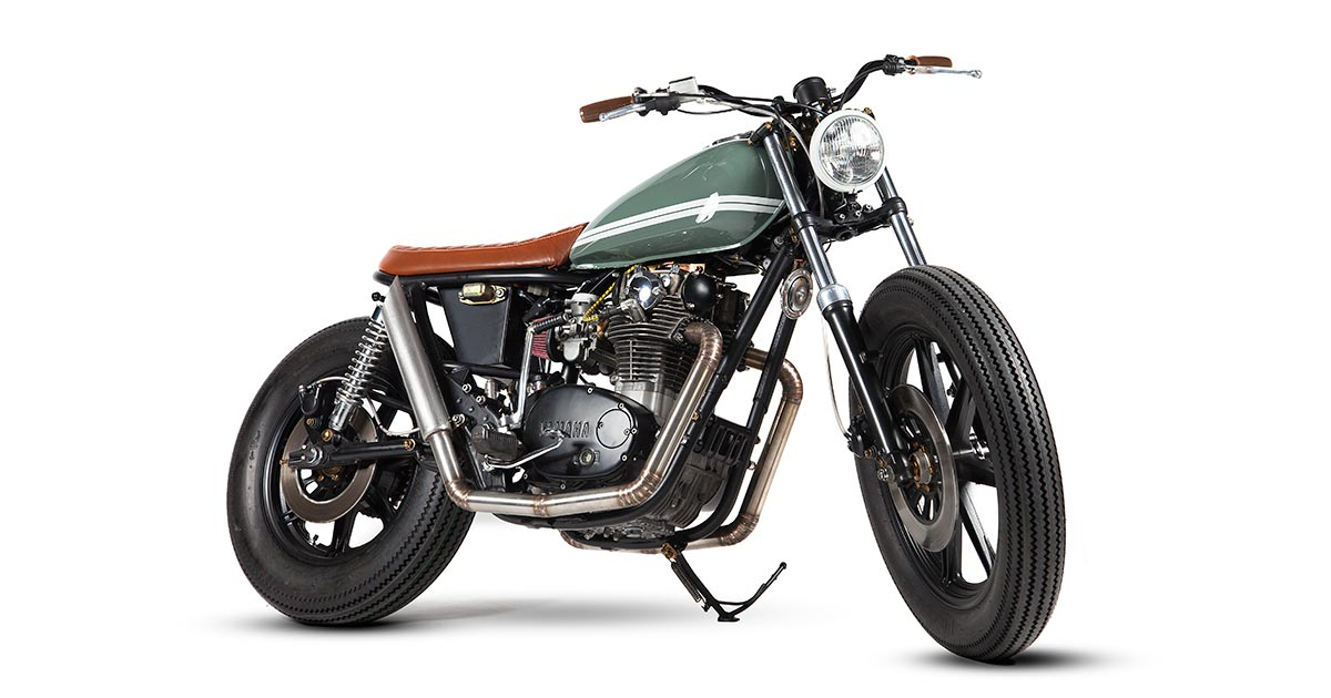 No Excess: A supremely elegant XS650 from Portugal