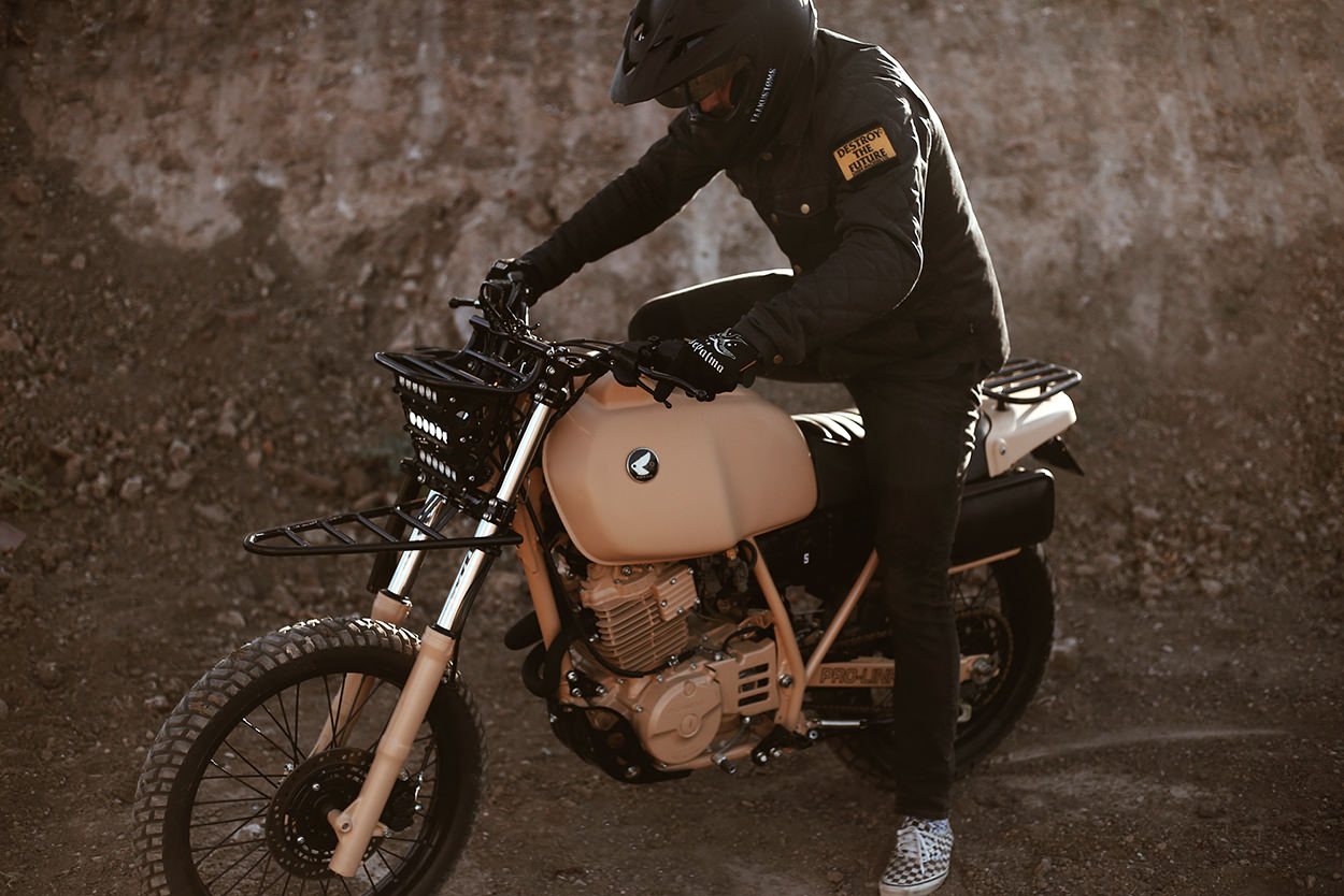 Dirt Trooper: A Honda XL600R custom from Herencia of Argentina