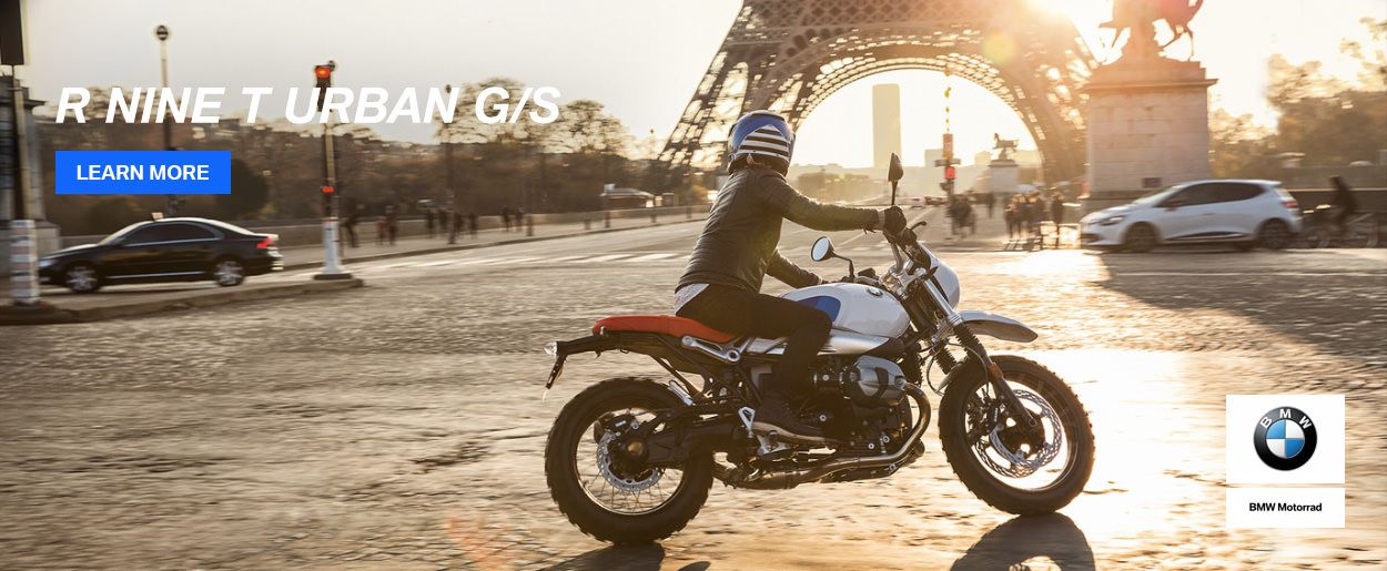 Discover the BMW R nineT Urban G/S