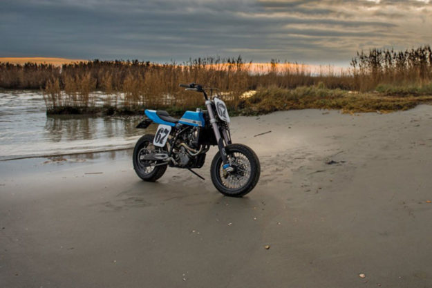 KTM 640 LC4 tracker by Just Bike