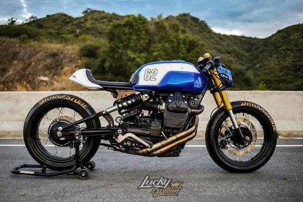 Moto Guzzi V7 Stone by Lucky Custom