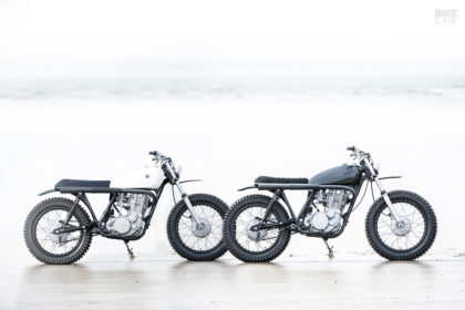 Two new Yamaha SR500 scrambler customs from Auto Fabrica