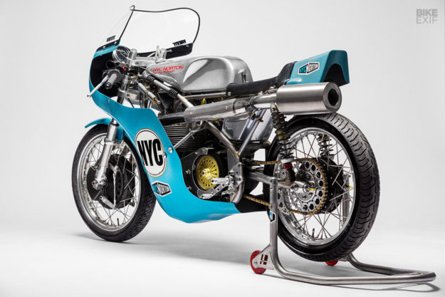 New from NYC Norton: A Seeley Matchless G50 racing motorcycle