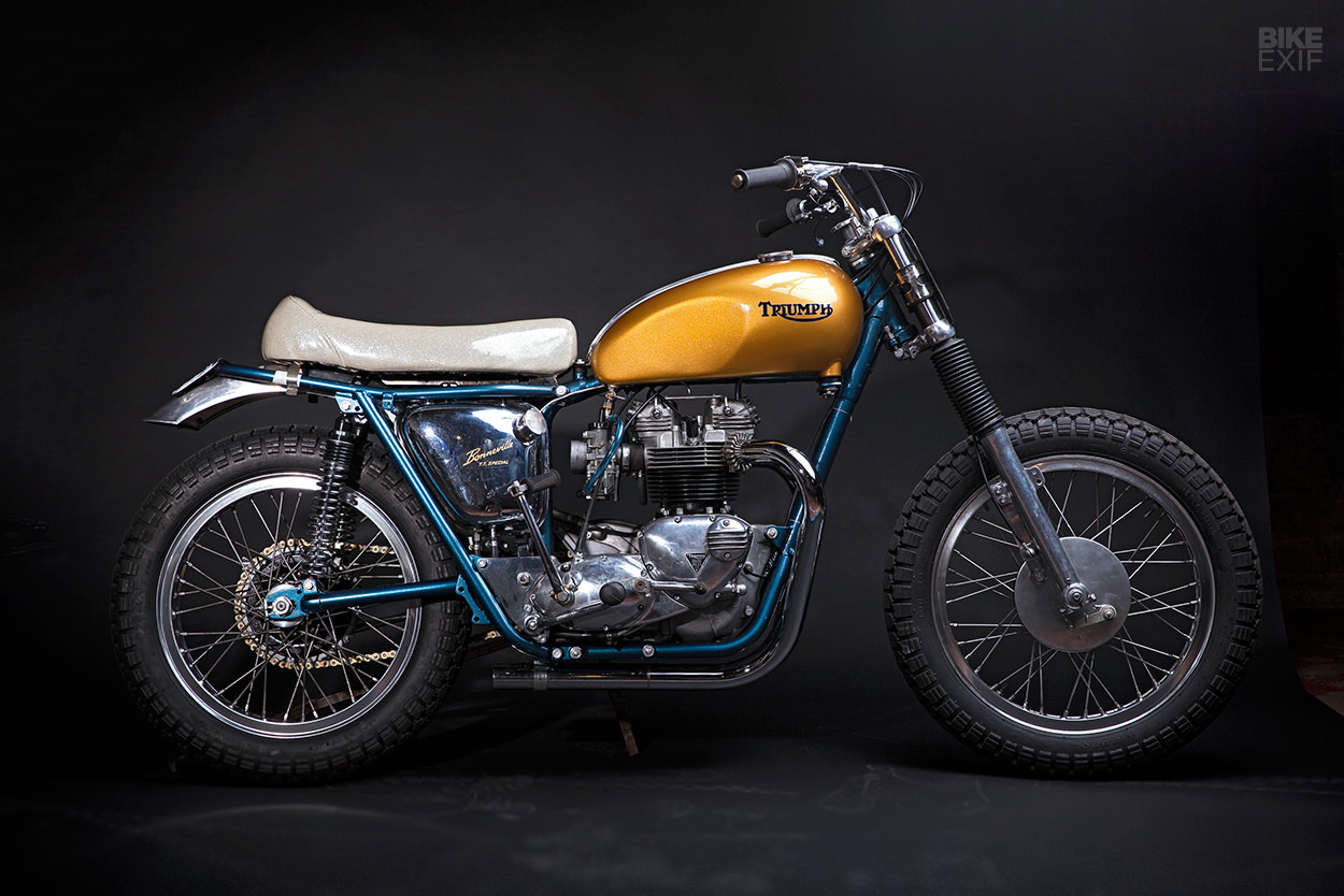 Don't Call it a Bitsa: Hello Engine's Triumph T140 750 TT Racer