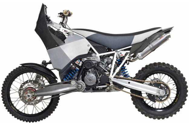2WD KTM 990 Adventure dirtbike by Guido Koch