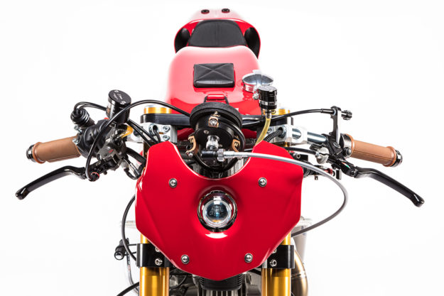 Alpinestars 55th Anniversary Ducati 750 Sport built by Michael Woolaway