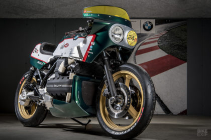 BMW K100 endurance racer tribute by VTR Customs