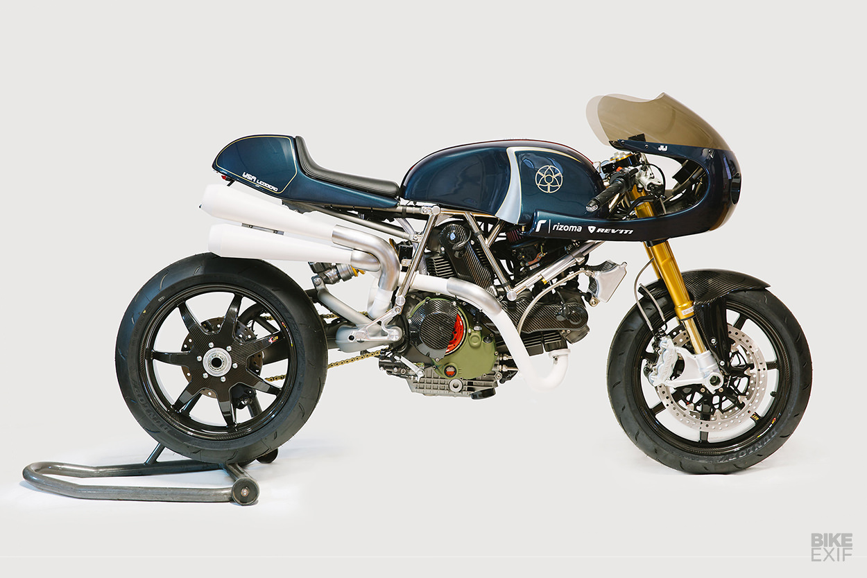 A Walt Siegl Ducati With A Discreet Muscle Car Vibe Bike Exif