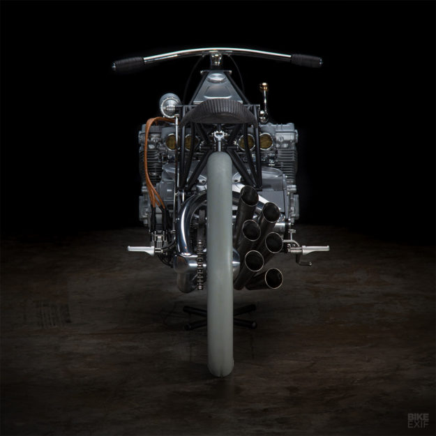 A Modern-Day Majestic: 'The Six' with Honda CBX power, by Revival Cycles