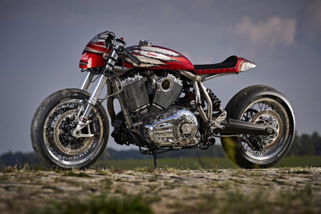 Indian Chief cafe racer by Detlev Louis Motorrad