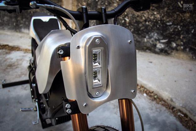 Custom Zero XU street tracker by Colt Wrangler Motorcycles