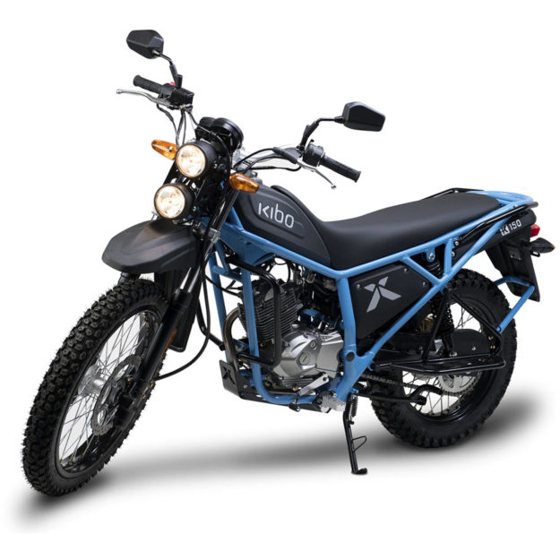 The Kibo K150: a motorcycle built for Africa