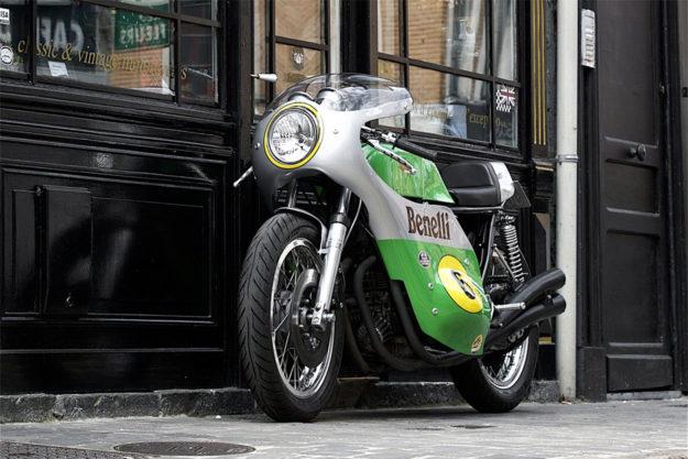 Benelli Quattro Corsa restoration