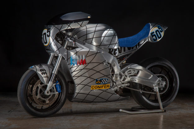A custom BMW S1000RR by Revival Cycles