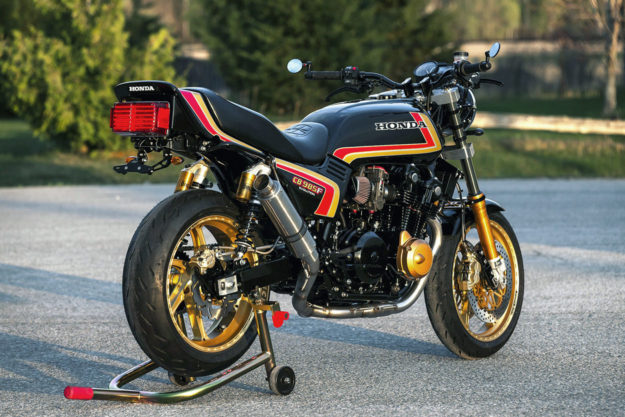 Custom Honda CB900F restomod