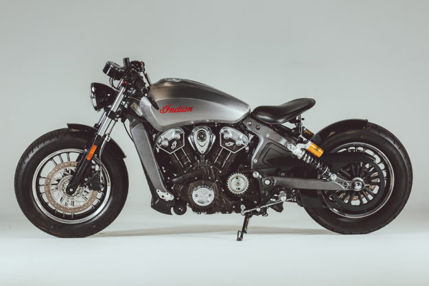 Custom Indian Scout Bobber by Rogue Motorcycles