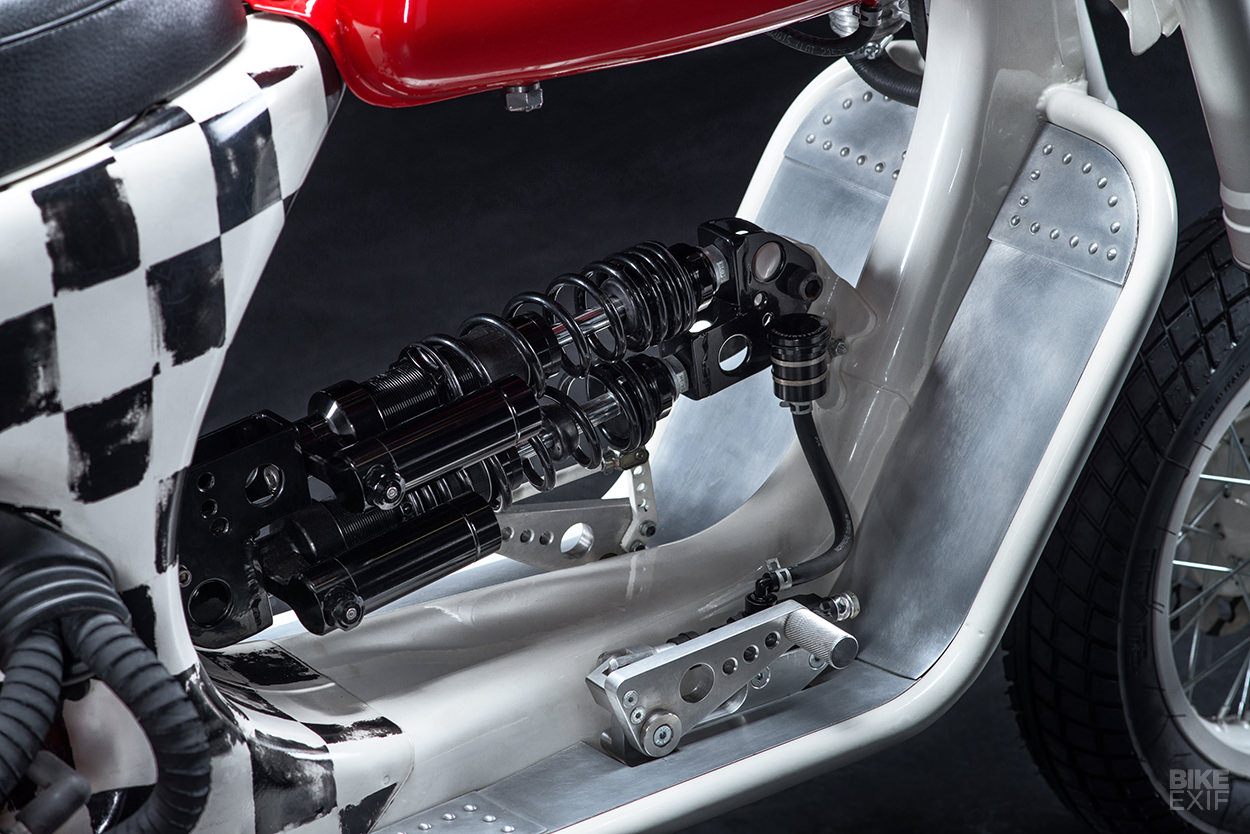 Butchered: An insane custom Vespa scooter from Russia | Bike EXIF