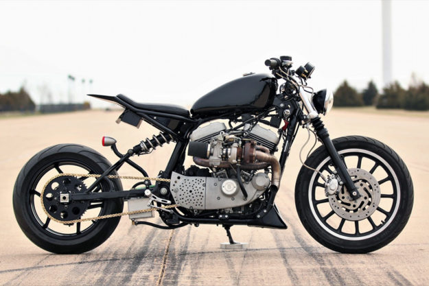 Turbo Harley Sportster street tracker by Bryce Schmidt