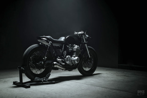 Wolf: A Honda CB750 K7 cafe racer from Hookie Co.