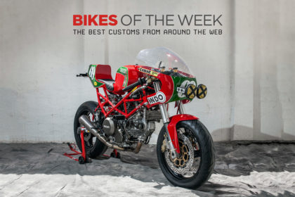 The best cafe racers, scramblers and bobbers of the week