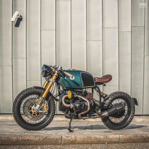 Moon Crawler: Ironwood goes for the luxe look with their latest BMW R100