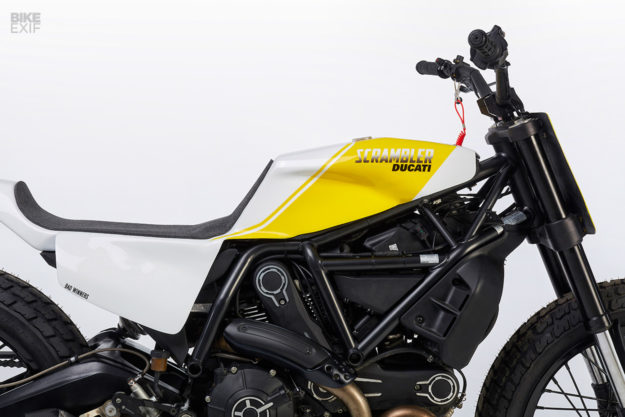 Bad Winners Ducati Scrambler 800 flat tracker