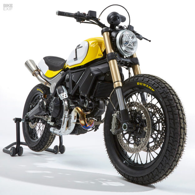 Bad Winners Ducati Scrambler 1100 flat tracker kit