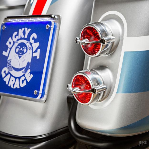 Space Explorer: Lucky Cat Garage's Yard Built Yamaha XV950R bagger