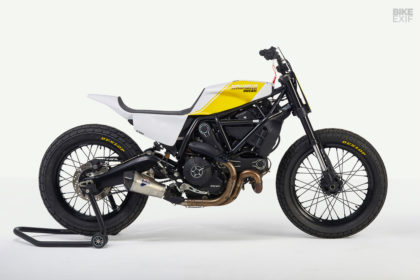 Bad Winners reveals a brace of Ducati Scrambler flat trackers