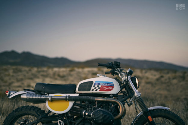 The Spanish workshop Fuel gives the BMW R nineT the desert sled treatment