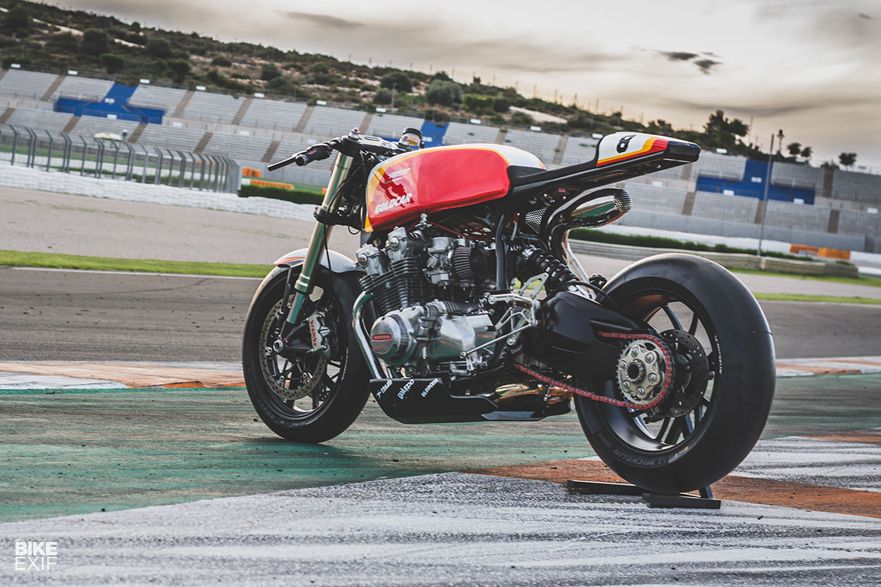 Track Prepped A CB750 From One Of Spains Top Race Teams