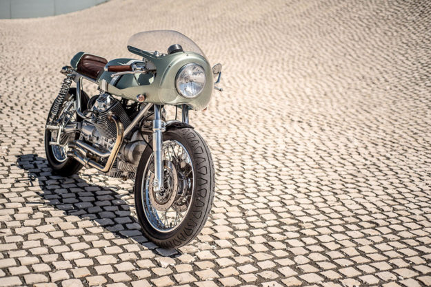 Moto Guzzi Nevada cafe racer by Rua Machines