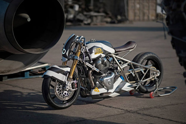 Royal Enfield LockStock drag bike