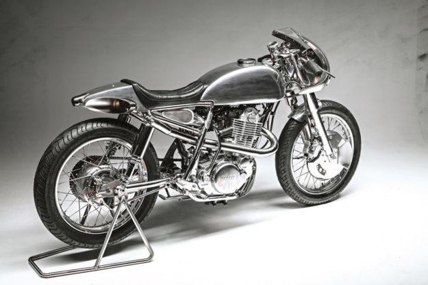 Custom Yamaha SR400 by Benjies Cafe Racer